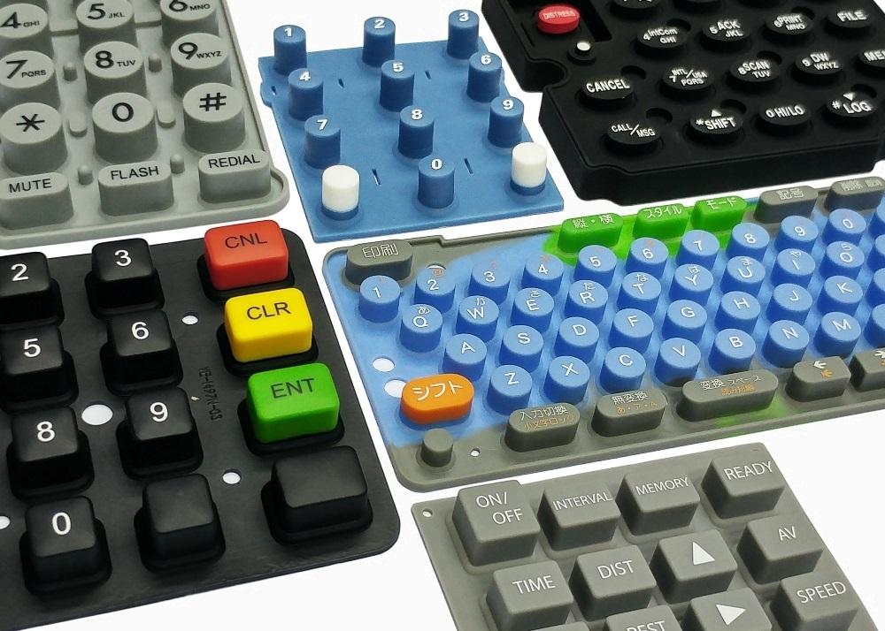 Silk-Screen Printing Keypads - YouEal (H K ) Ltd  唯一電子有限公司
